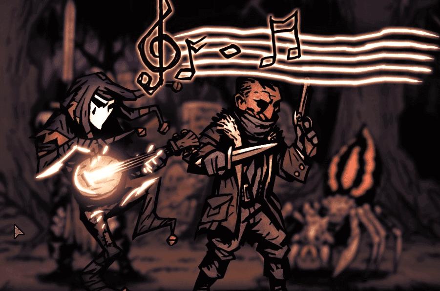 Darkest Dungeon Jester Plays a Tune