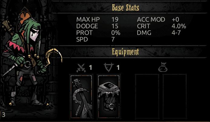 Darkest Dungeon Jester Stats
