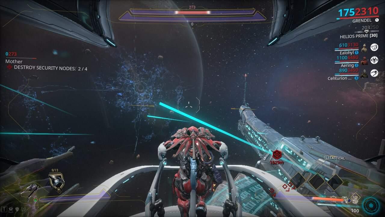 Generic Railjack Combat Screen