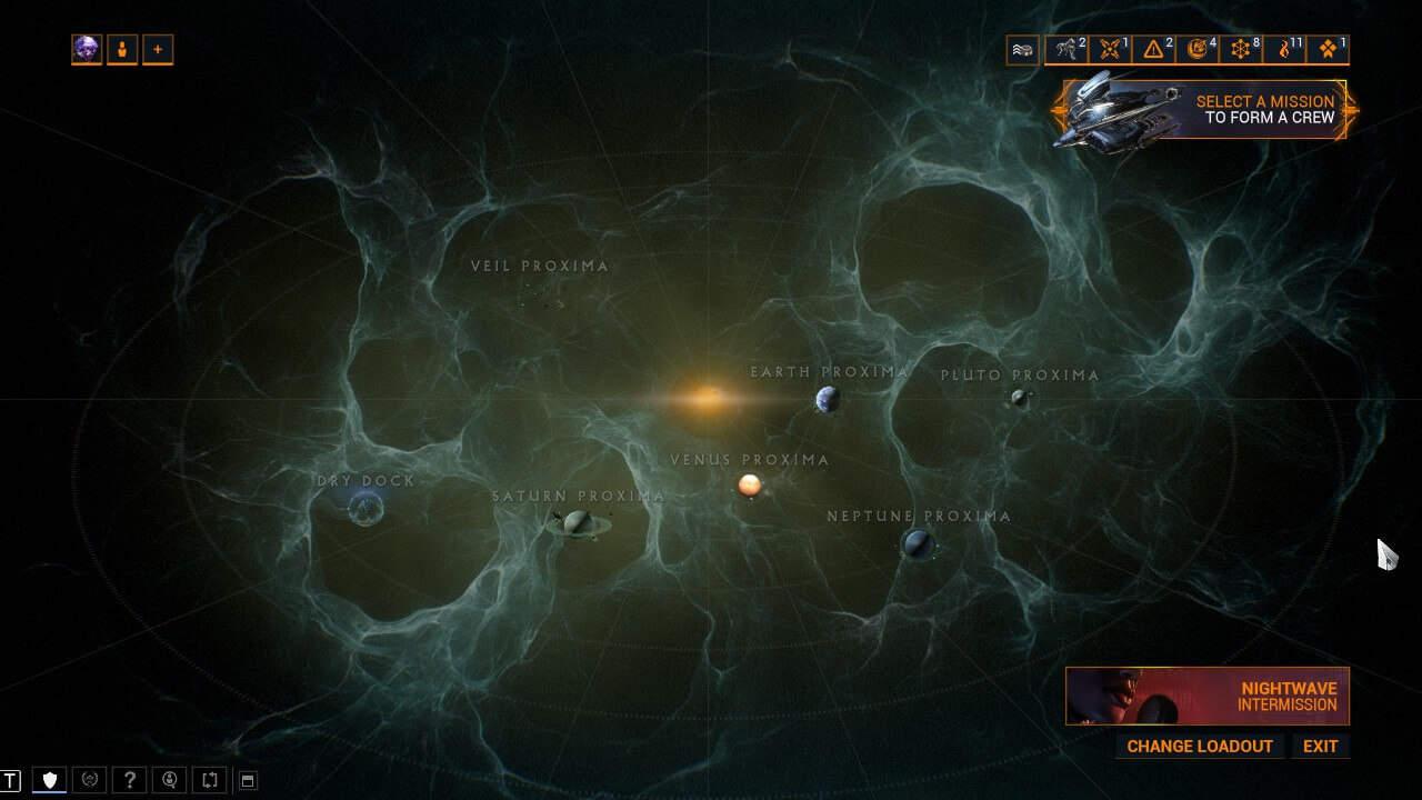 The Proxima Map for Railjack