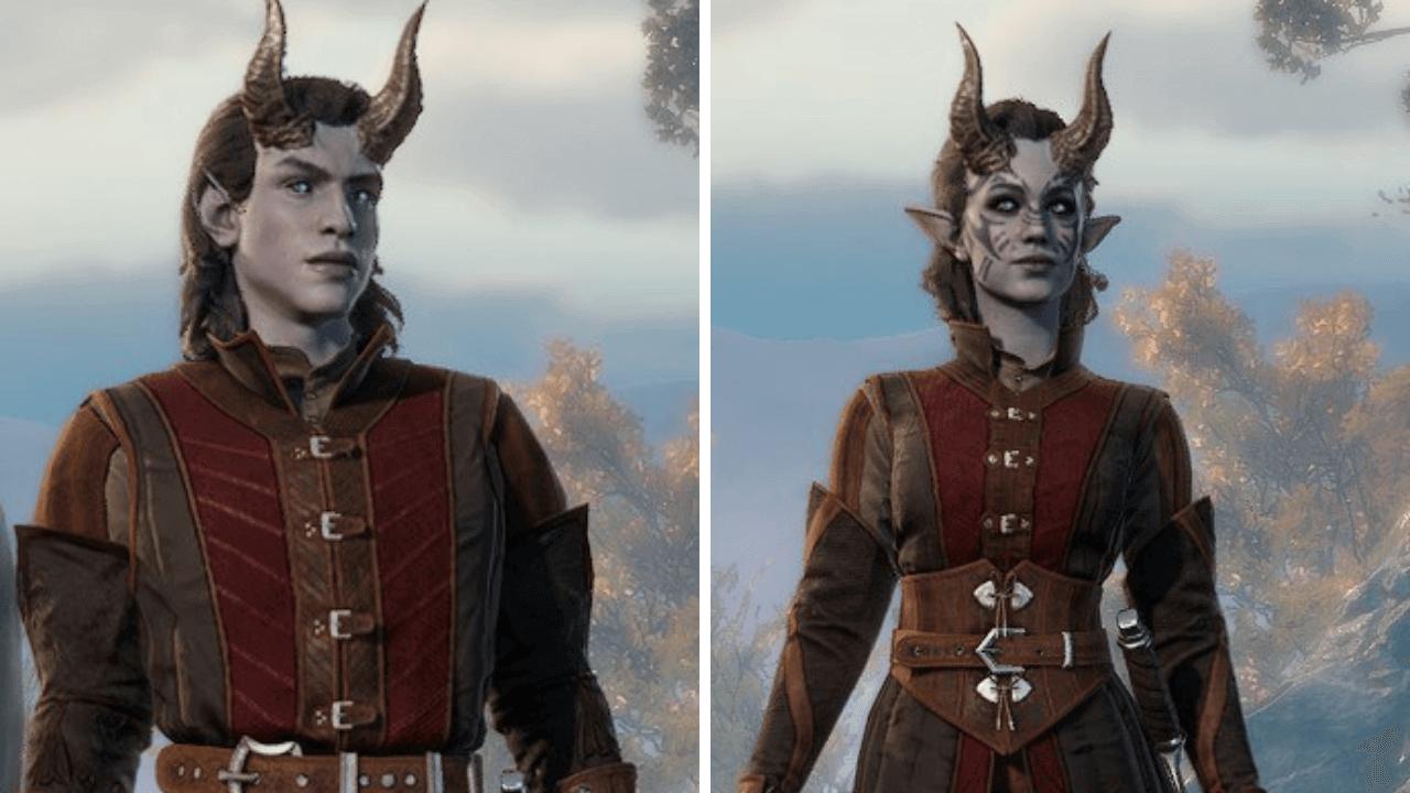 Baldur's Gate 3 Character Creation Tieflings