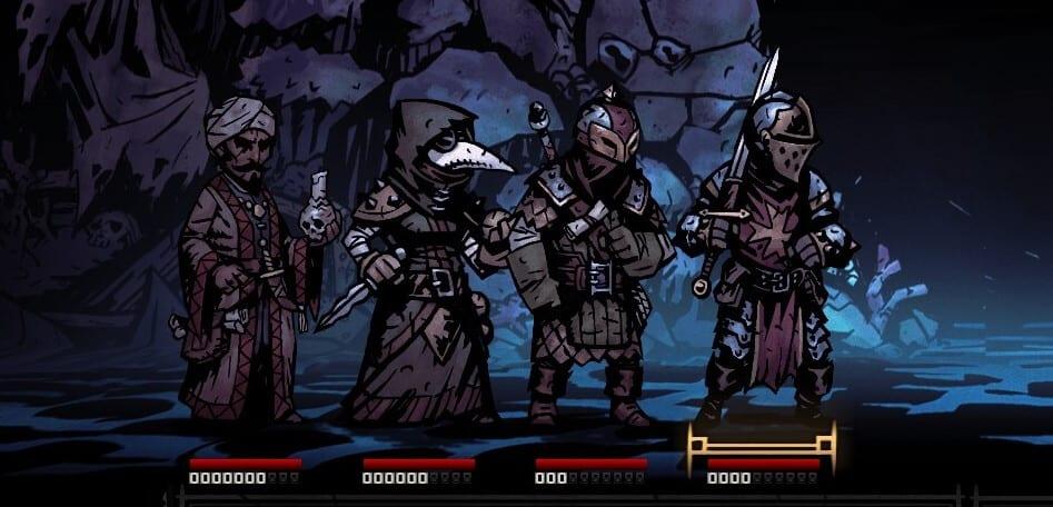 Bounty Hunter Team Darkest Dungeon