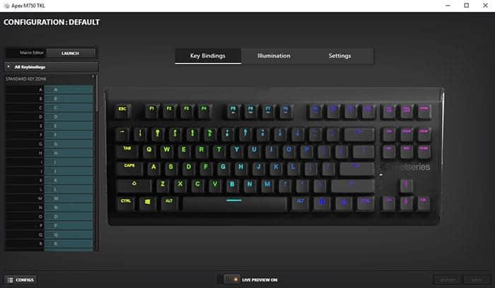 SteelSeries Apex M750 TKL Review   Unleash the Gamer